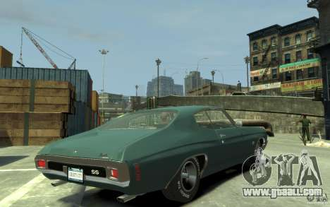 Chevrolet Chevelle SS 454 v2 for GTA 4 right view