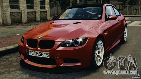 BMW M3 GTS 2010 for GTA 4