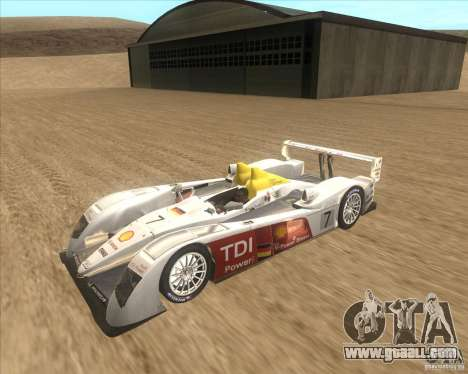 Audi R10 TDI for GTA San Andreas