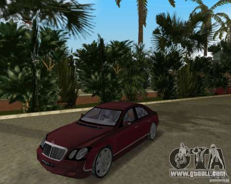 Maybach 57 for GTA Vice City left view
