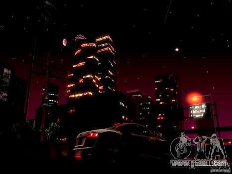 Starry sky V 2.0 (single player) for GTA San Andreas second screenshot