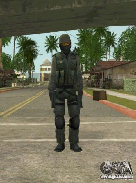 Counter-terrorist for GTA San Andreas