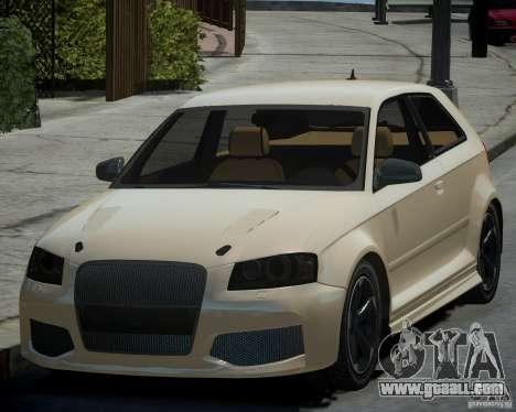 Audi S3 v2.0 for GTA 4