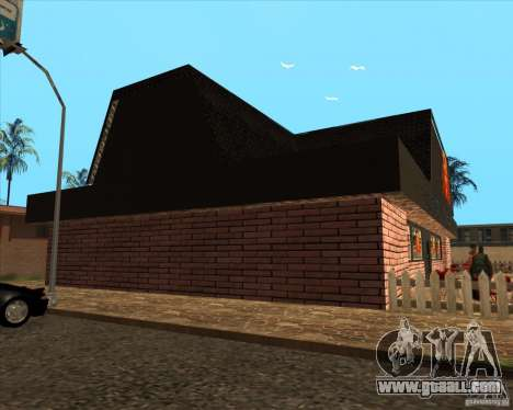 New pizzeria in IdelWood for GTA San Andreas third screenshot