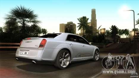 Chrysler 300C V8 Hemi Sedan 2011 for GTA San Andreas bottom view