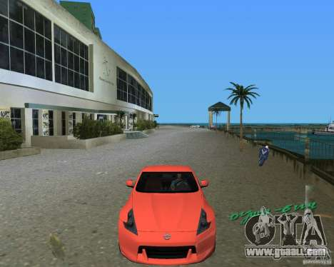Nissan 370Z for GTA Vice City left view