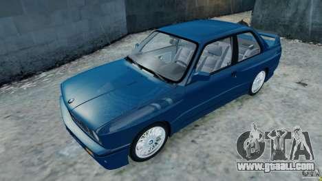 BMW M3 E30 FINAL for GTA 4