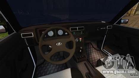 Vaz-2107 for GTA 4 back view