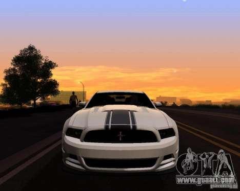 Real World ENBSeries v4.0 for GTA San Andreas second screenshot