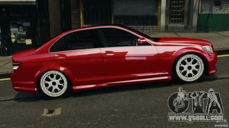 Mercedes-Benz C350 Avantgarde v2.0 for GTA 4 left view