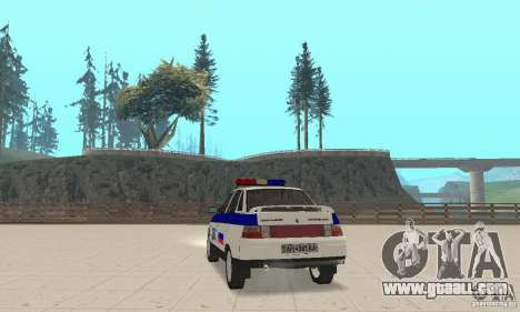 VAZ 2110 DPS for GTA San Andreas left view