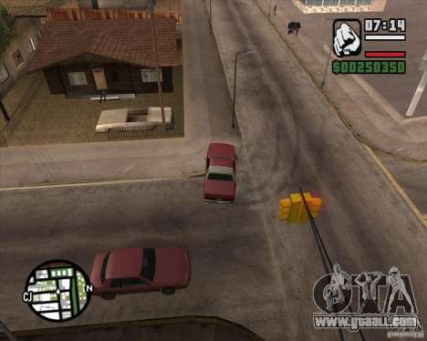 Camera as in GTA Chinatown Wars for GTA San Andreas ninth screenshot