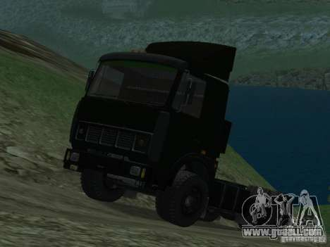 MAZ 5432 for GTA San Andreas left view
