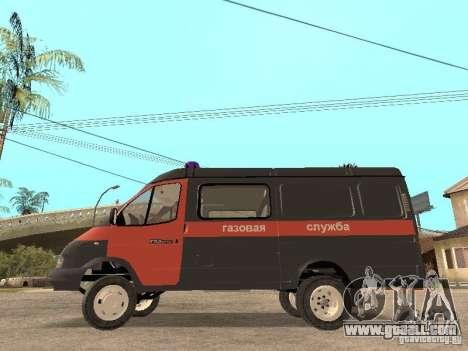 Gazelle 2705 gas service for GTA San Andreas