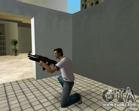 AK-47 with Underbarrel Shotgun for GTA Vice City sixth screenshot