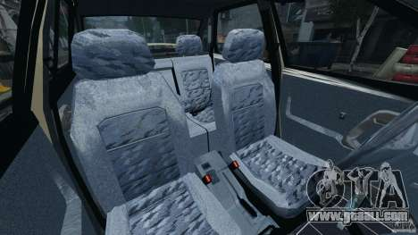 Vaz-21103 v1.0 for GTA 4 inner view