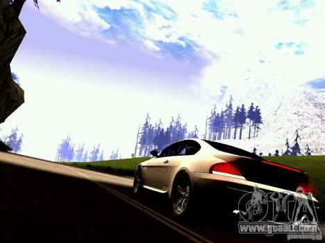 BMW M6 MotoGP SafetyCar for GTA San Andreas right view