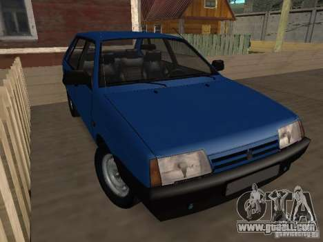 VAZ 2109 Drain for GTA San Andreas back left view