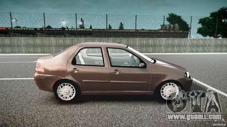 Fiat Albea Sole (Bug Fix) for GTA 4 back view