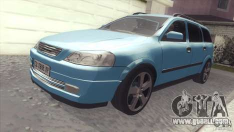 Opel Astra 1999 for GTA San Andreas right view