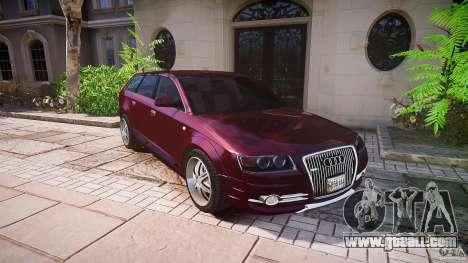 Audi A6 Allroad Quattro 2007 wheel 1 for GTA 4 wheels