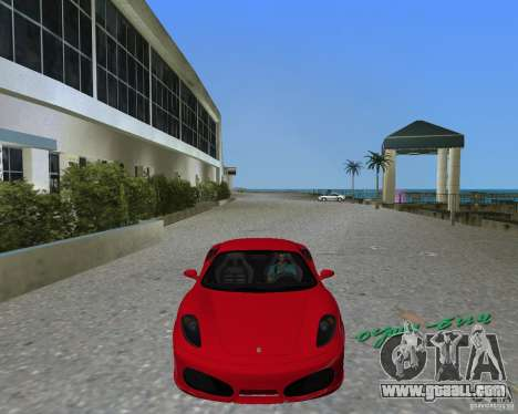 Ferrari F430 for GTA Vice City back left view