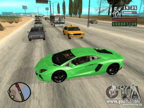 Automobile Traffic Fix v0.1 for GTA San Andreas third screenshot