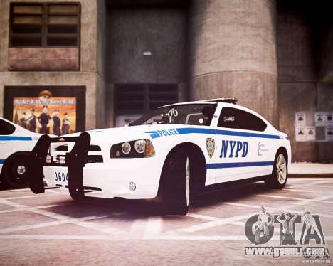 Dodge Charger 2010 NYPD ELS for GTA 4