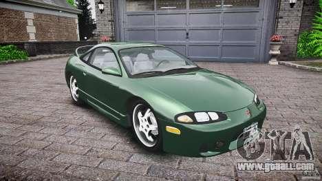Mitsubishi Eclipse 1998 for GTA 4 inner view