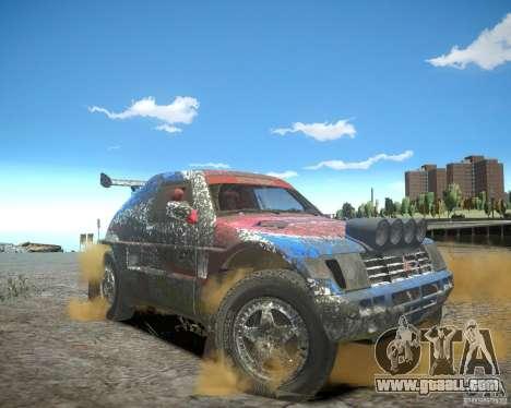 Mitsubishi Pajero Proto Dakar EK86 for GTA 4 interior