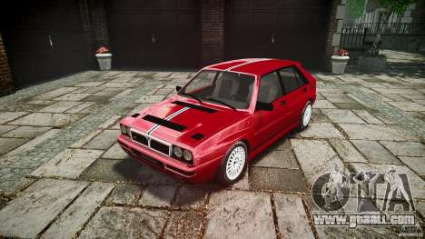 Lancia Delta HF Integrale Dealers Collection for GTA 4