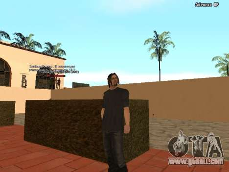 HD Skins STAFF for GTA San Andreas third screenshot