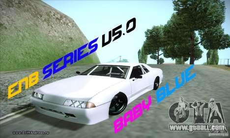 ENBSeries v5.0 Baby Blue for GTA San Andreas