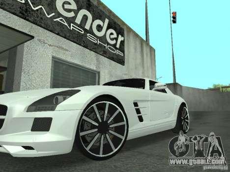 Luxury Wheels Pack for GTA San Andreas third screenshot
