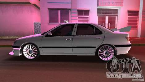 Peugeot 406 Taxi 2 for GTA Vice City right view