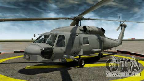 The helicopter the Sikorsky SH-60 Seahawk for GTA 4