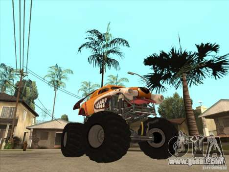 Monster Mutt for GTA San Andreas back view