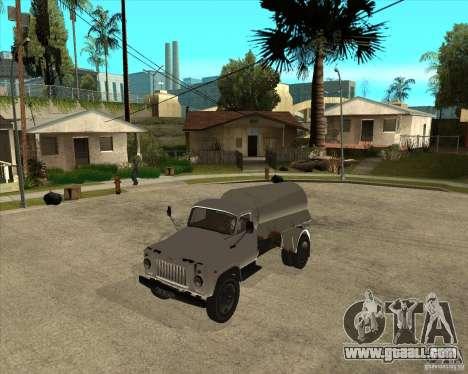 Gaz-52 fuel truck for GTA San Andreas