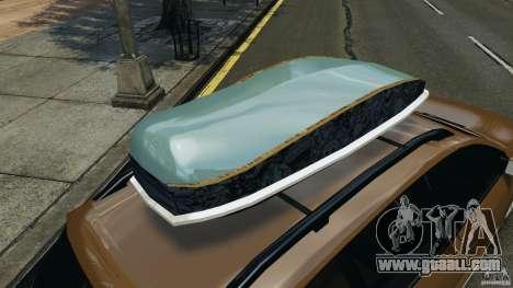 Volkswagen Passat Variant B7 for GTA 4 upper view