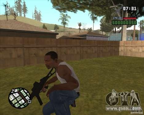 Ump 45 v 2.0 for GTA San Andreas second screenshot
