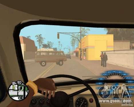 Normal hands CJâ for GTA San Andreas sixth screenshot