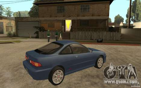 Honda Integra Type-R (Stock) for GTA San Andreas right view