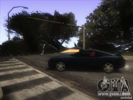 Enb from GTA IV for GTA San Andreas sixth screenshot