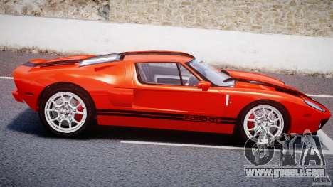 Ford GT 2006 v1.0 for GTA 4 inner view