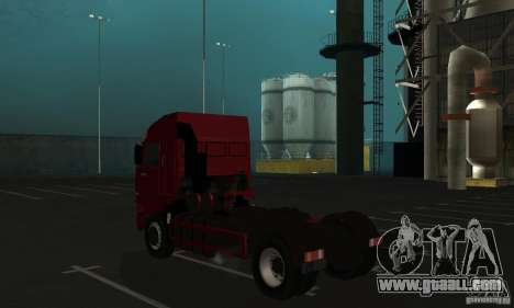 KAMAZ 5460 Skin 1 for GTA San Andreas right view
