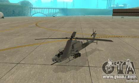 Hunter - AH-1Z Cobra for GTA San Andreas