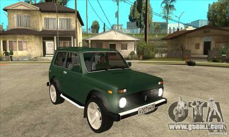 VAZ 21213 NIVA for GTA San Andreas back view