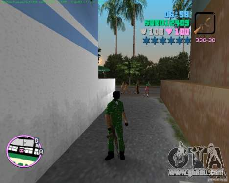 AK-74 for GTA Vice City third screenshot
