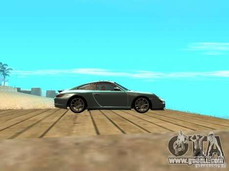 Porsche 997 GT3 RS for GTA San Andreas inner view