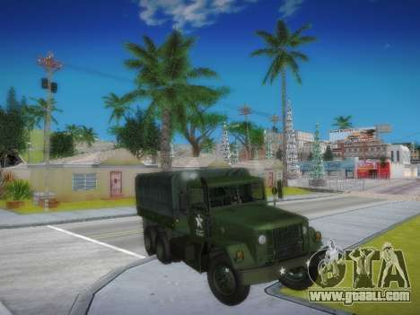AM General M35A2 for GTA San Andreas back view